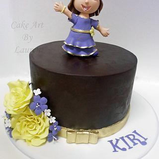 Dora The Explorer Cake
