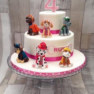 Paw Patrol cake - Cake by Sue