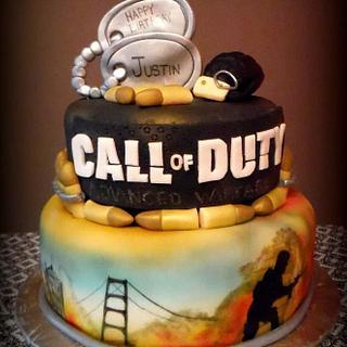 Call of Duty - Cake by Sassy's Cakes