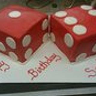 sweet 16 dice cake