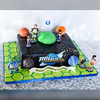 Miles From Tomorrowland Cake - Cake by Cake'D By Niqua