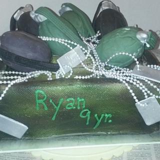 grenades and dog tags - Cake by karim913