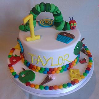 Hungry caterpillar cake - Cake by MJ'S Cakes