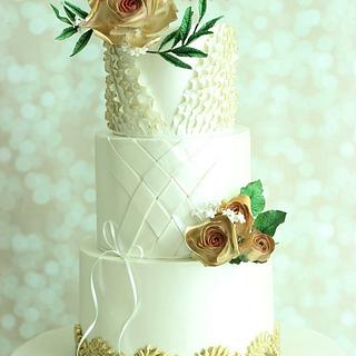 """Rendevouz""- Wedding Cake"