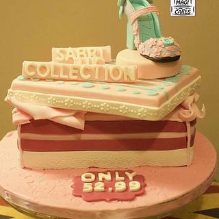 London Shoes Cake!