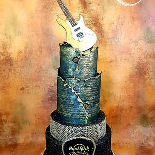 Hard rock cafe cake