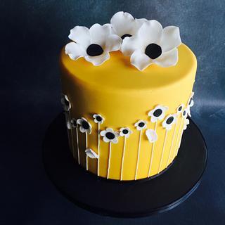 Buttercup Yellow cake