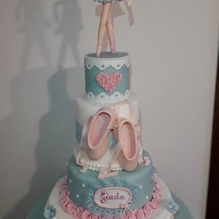 Little dancer - Cake by silviacucinelli