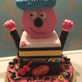 Bertie basset cake - Cake by Sue