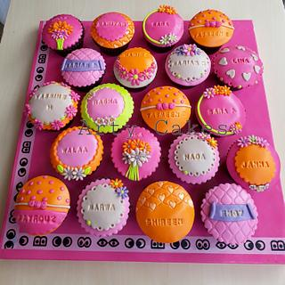 Cupcakes by Arty cakes