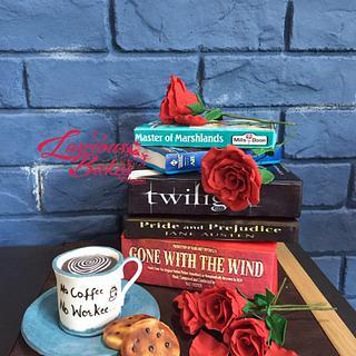 Love  - Cake by Luscious Bakes by Rashmi