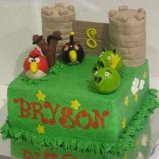 Angry Birds! - Cake by Tina