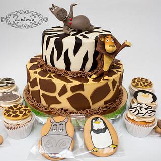 Madagascar candy bar - Cake by Olya