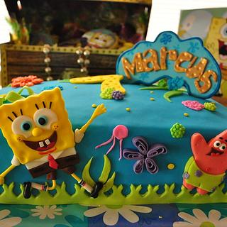 Spongebob Squarepants - Cake by Donna