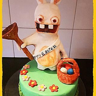 Fondant easter cake topper collabration 2017