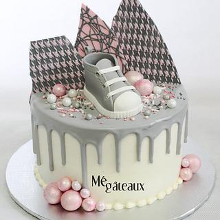shower drip cake