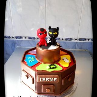 Tarta Ladybug - Cake by Mis dulces dreams