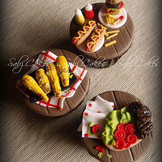 Summer Food Tutorial for Cake Masters July issue