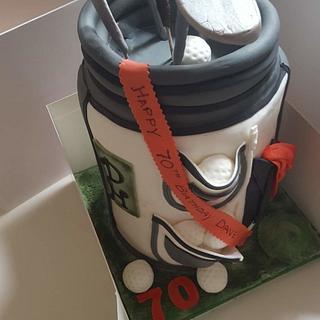 Golf bag - Cake by Eve@Cakes4u.biz