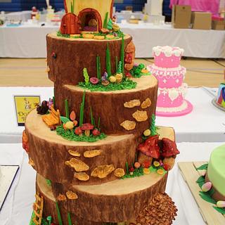 """Pixie Point""  Fairy Cake"