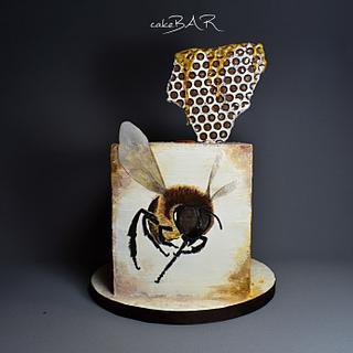 Bee - Cake by cakeBAR