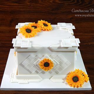 Sunflowers - Cake by Anastasia