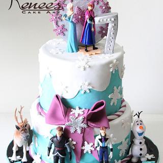 Frozen Themed Cake - Cake by Purbaja B Chakraborty