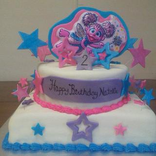 Abby Caddaby - Cake by CC's Creative Cakes and more...