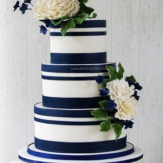 Navylicious wedding cake