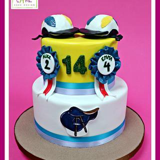 Horse-ball cake