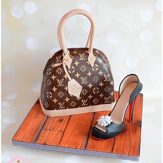 Handbag & Shoe... - Cake by Dollybird Bakes