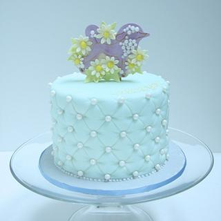 Poodle Birthday Cake  - Cake by Cookie Hound!
