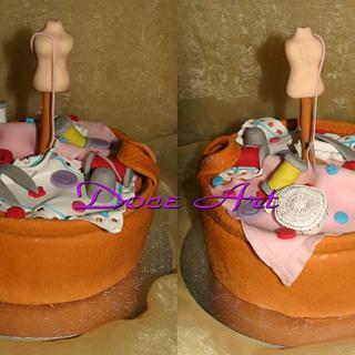 Sewing cake - Cake by Magda Martins - Doce Art
