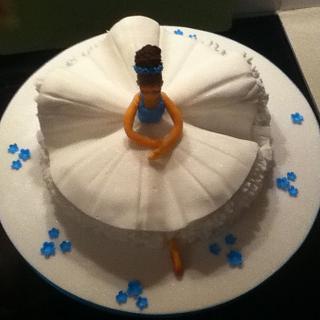 Ballerina - Cake by chris sandilands