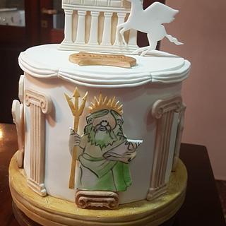 Dioses Romanos en caricaturas - Cake by Ofelia Bulay