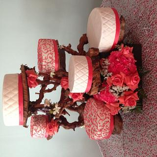 Quinceanera Cake - Cake by Wendy