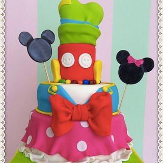 Disney mix cake