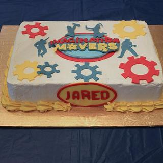 Imagination Movers cake