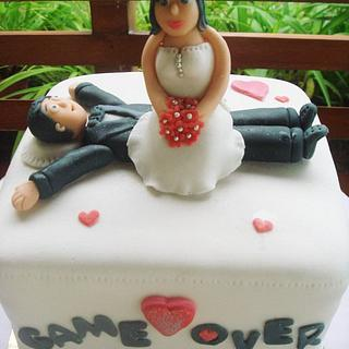 AFTER WEDDING PARTY CAKE ;)