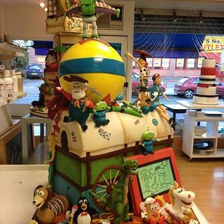 Gold award winning Toy story cake