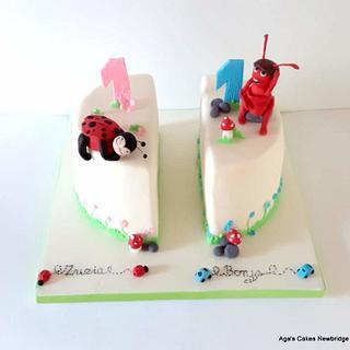 Twins cake - Cake by Agnieszka