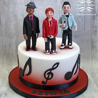 Ed Sheeran, Dan Smith (Bastille) and Bruno Mars
