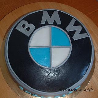 BMW logo - cake for my husband