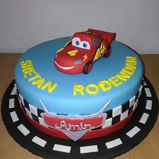 Cars bithday cake