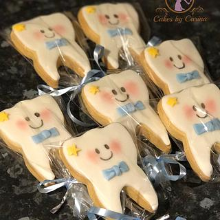 1st Tooth Cookies
