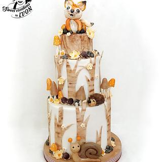 WOODLAND - Cake by Ivon