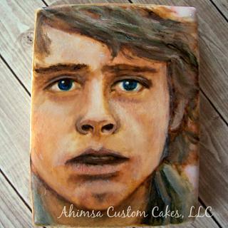 Luke Skywalker cookie ~ Star Wars Collaboration