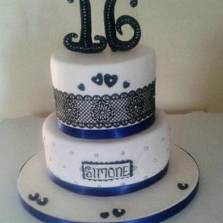 Sweet Sixteen - Cake by Ginny