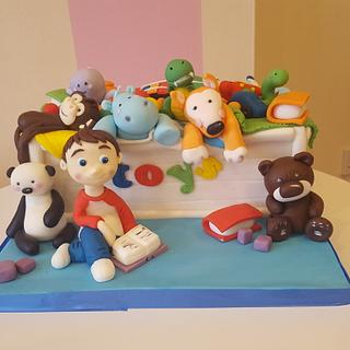 Toy box cake  - Cake by Helen at fairy artistic