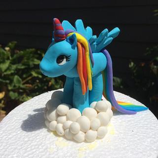 Rainbow unicorne